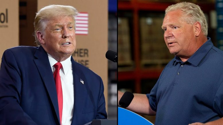 """""""Who would do this? Oh, President Trump"""": Doug Ford tears into U.S. administration over new tariffs 1"""