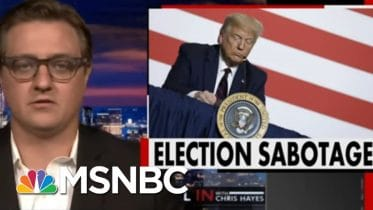 Trump Plan Is To Attack Legitimacy Of Voting System While Also Undermining It | All In | MSNBC 10