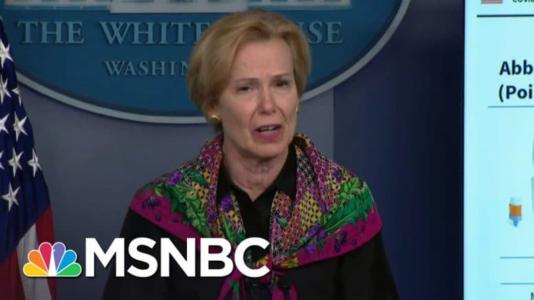 Trump Now Blasting Birx After Her She Frequently Defended Him | The 11th Hour | MSNBC 1