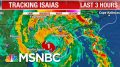 Hurricane Isaias Makes Landfall In North Carolina As Category 1 Storm | The 11th Hour | MSNBC 8