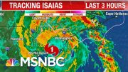 Hurricane Isaias Makes Landfall In North Carolina As Category 1 Storm | The 11th Hour | MSNBC 4