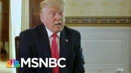 Trump Declines To Praise John Lewis, Citing Inauguration Snub | Morning Joe | MSNBC 3