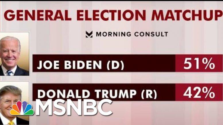 Biden Leading Trump In New General Election Polling   Morning Joe   MSNBC 1