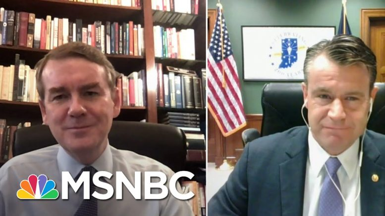 Senators Bennet And Young Push Own Small Business Relief Bill   Stephanie Ruhle   MSNBC 1