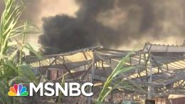 Video Appears To Show Aftermath Of An Explosion In Beirut | Craig Melvin | MSNBC 6