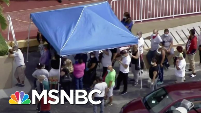 Millions On The Ropes As Virus Relief Negotiations Stall | Andrea Mitchell | MSNBC 1