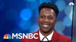 Leslie Odom Jr. On Protest And The Genius Of 'Hamilton' | The Beat With Ari Melber | MSNBC 4