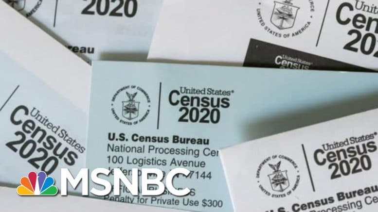 US Census Bureau To Suspend Counting Operation On Sep. 30 | MTP Daily | MSNBC 1