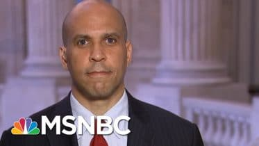 Sen. Booker Says Trump's Attacks On Voting Process Are 'Shameless' And 'Dangerous' | All In | MSNBC 6
