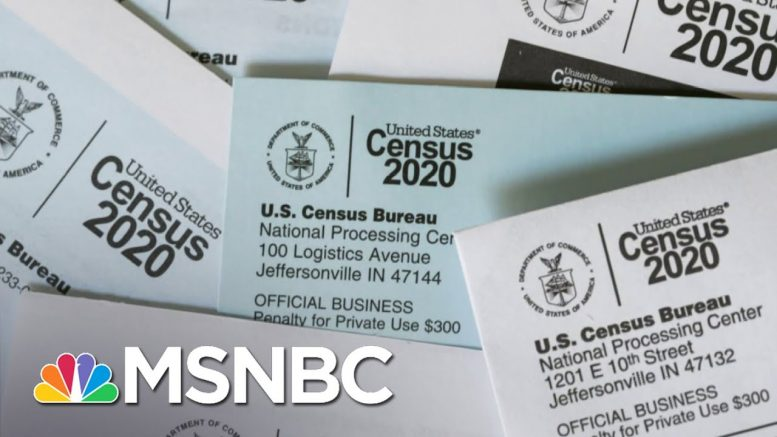 Voting Rights Expert Says Early End To Census Count Could Be 'Disastrous' | The Last Word | MSNBC 1