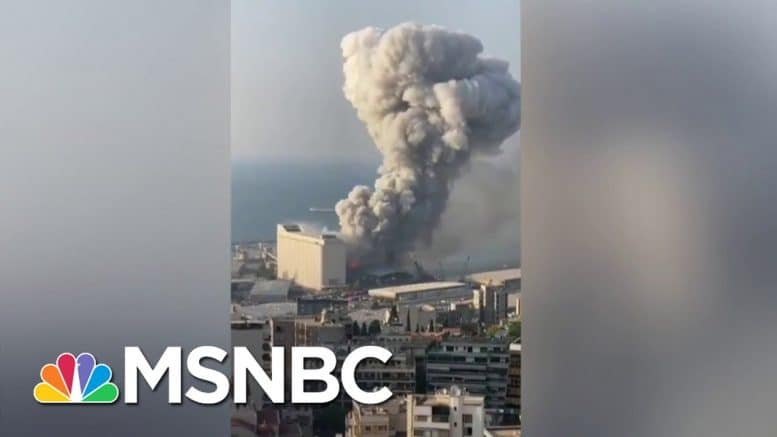'Criminal Negligence, Uncaring' Government Bear Blame For Beirut Blast | The Last Word | MSNBC 1