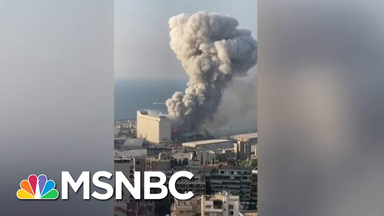 'Criminal Negligence, Uncaring' Government Bear Blame For Beirut Blast   The Last Word   MSNBC 3