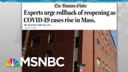 Coronavirus Resurgence Could Prompt State's Reopening Step-Back | Rachel Maddow | MSNBC 6