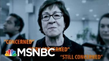 Why Susan Collins Should Be 'Concerned' About Reelection | All In | MSNBC 6