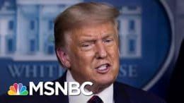 Trump Flip-Flops On Mail Voting... But Only For Florida | The 11th Hour | MSNBC 1