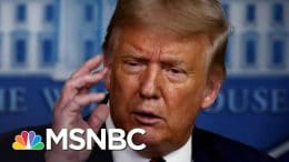 Trump Tries Damage Control After Dismissive Remark On COVID-19 Deaths | The 11th Hour | MSNBC 2