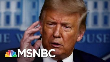 Trump Tries Damage Control After Dismissive Remark On COVID-19 Deaths | The 11th Hour | MSNBC 6
