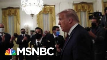 Trump Continues To Downplay U.S. Coronavirus Death Toll | Morning Joe | MSNBC 4