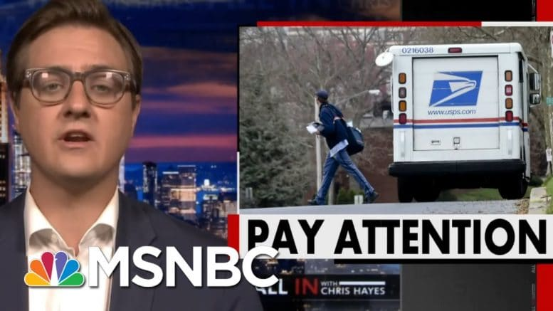 How Trump Is Slowing Down The Post Office In The Year Of The Mail-In Ballot | All In | MSNBC 1