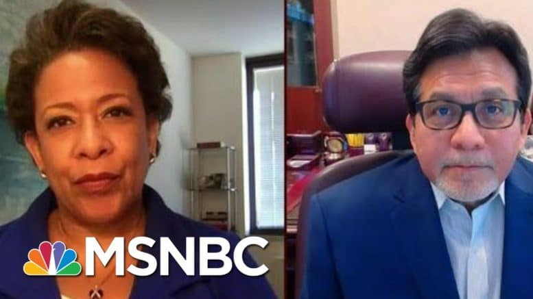 Fmr. U.S. AG's Co-Chair New COVID-19, Criminal Justice Commission | Morning Joe | MSNBC 1
