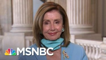 Pelosi: 'I'm Confident That We Will Have An Agreement' On Virus Relief | Andrea Mitchell | MSNBC 9