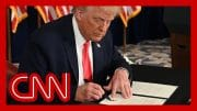 President Trump signs executive actions targeting economy 2