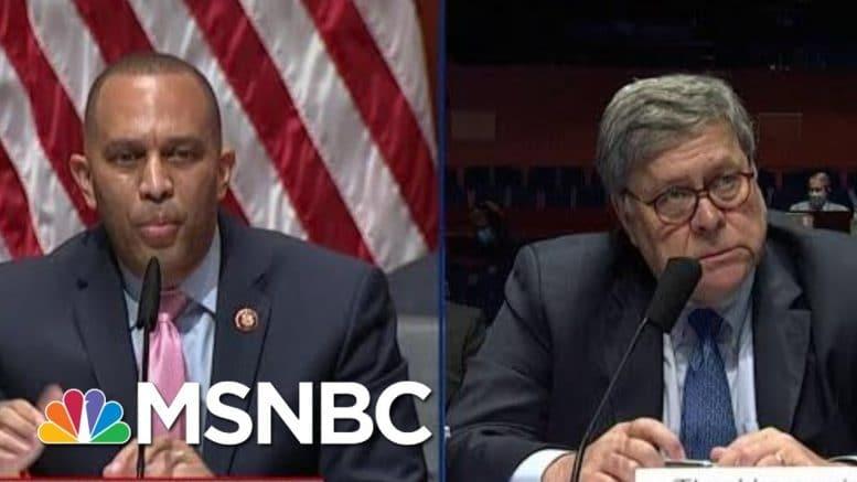 Obama Lawyer: AG Barr Acting Like Giuliani, Destroying DOJ | The Beat With Ari Melber | MSNBC 1