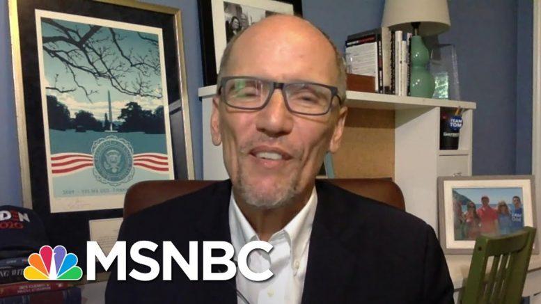 "Joe Biden Camp Still Expects ""Robust"" Convention With Virtual Address   MSNBC 1"