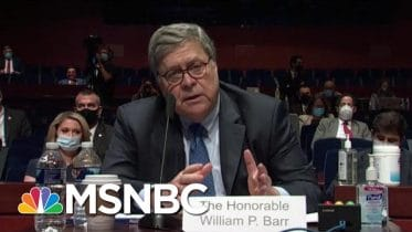 Facing Possible 2020 Loss, Trump Ripped For Most Partisan A.G. Ever   MSNBC 6