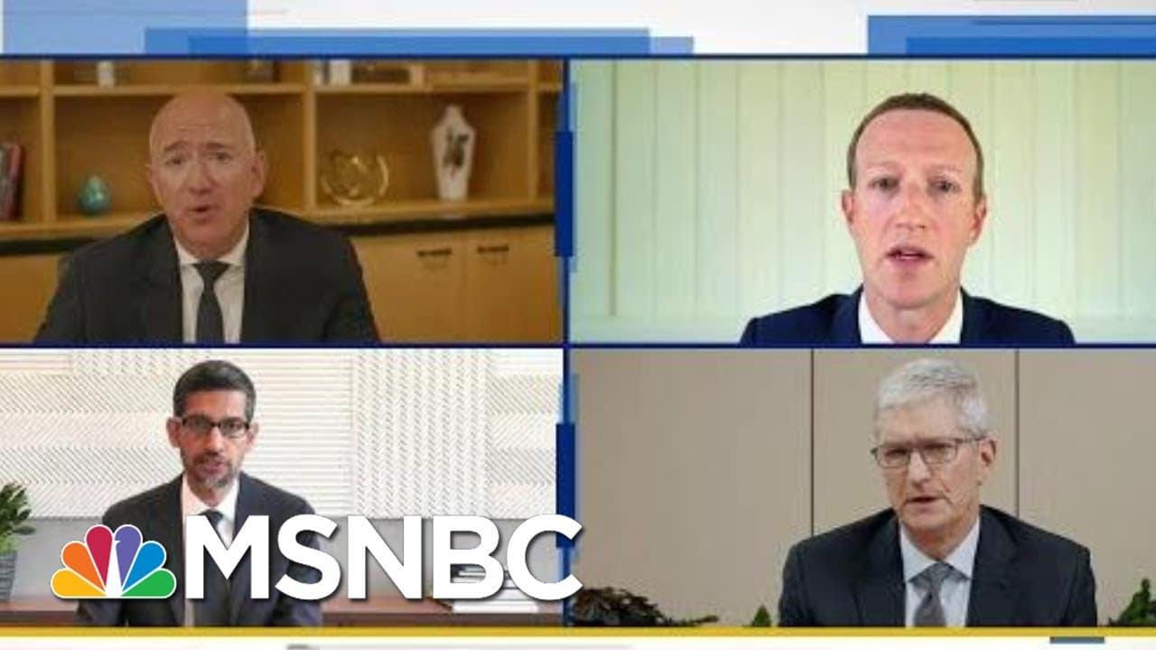 Twitter Restricts Donald Trump Junior Amidst Battle Over Tech Power   MSNBC 4