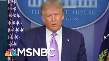 Trump Dinged By Social Media For 'Harmful COVID Misinformation' | Rachel Maddow | MSNBC 6