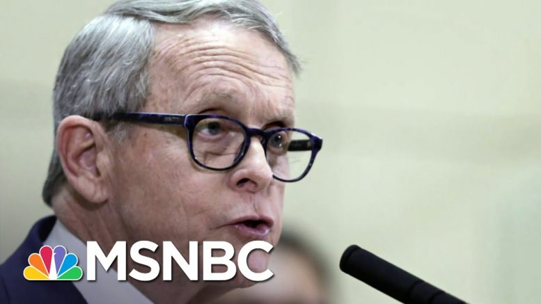 Ohio Governor Tests Positive For COVID-19, Has Existing Respiratory Issues   MSNBC 1