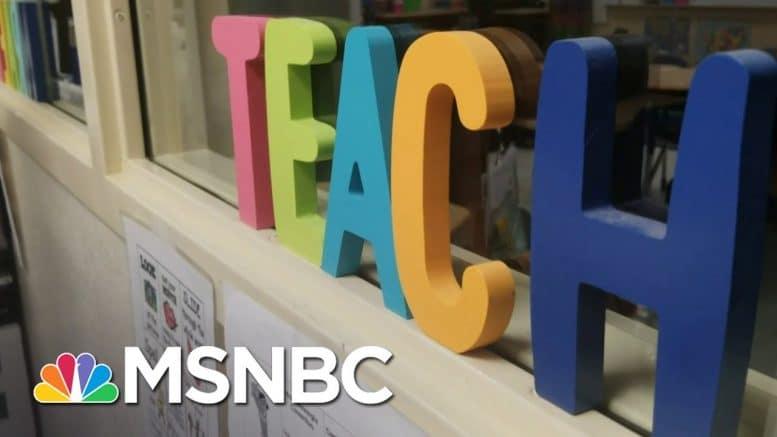 Florida Teacher On Reopening Schools: 'It's Life Or Death'   Katy Tur   MSNBC 1