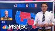 NBC News Unveils Its First 2020 Battleground Electoral Map Today | MTP Daily | MSNBC 4
