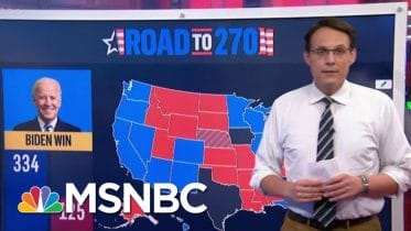 NBC News Unveils Its First 2020 Battleground Electoral Map Today | MTP Daily | MSNBC 6