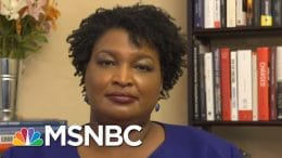 Stacey Abrams Explains GOP 'Shenanigans' Used To Disenfranchise 'Inactive' Voters | All In | MSNBC 6