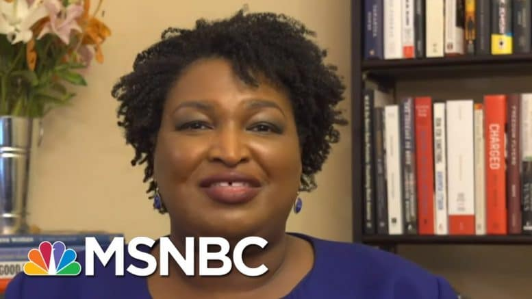 Stacey Abrams On Census Freeze: 'This Is More Nefarious Than People Realize' | All In | MSNBC 1