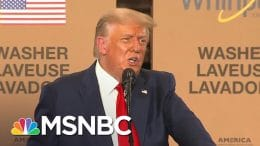 Trump Suggests COVID-19 Vaccine Will Be Ready Before Election Day | The 11th Hour | MSNBC 5