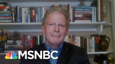 "President Donald Trump Attacks Joe Biden, Claims He's ""Against God."" | The 11th Hour | MSNBC 6"