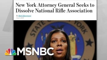 Lawsuit Alleges Politically Powerful NRA Executives Spent Members' Money On Luxury | MSNBC 6