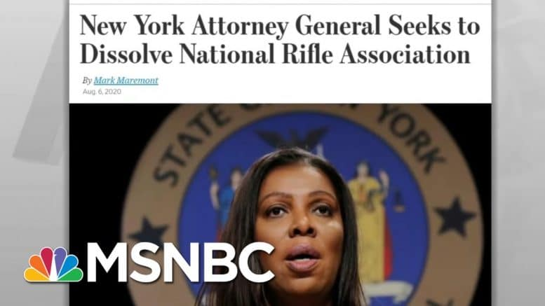Lawsuit Alleges Politically Powerful NRA Executives Spent Members' Money On Luxury | MSNBC 1