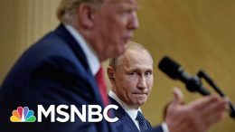 Trump Says He Didn't Ask Putin About Russian Bounties On U.S. Troops | The 11th Hour | MSNBC 8