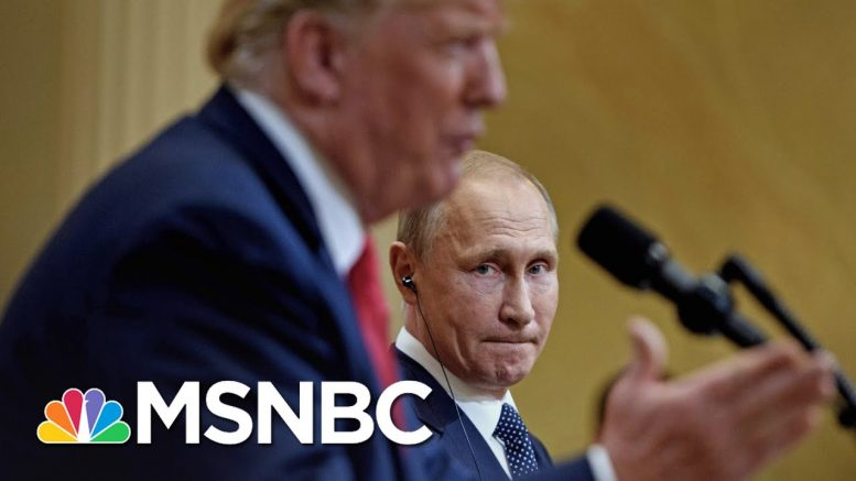 Trump Says He Didn't Ask Putin About Russian Bounties On U.S. Troops | The 11th Hour | MSNBC 1