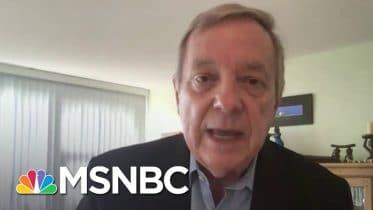 Sen. Durbin: Trump Cannot Solve Covid Aid Problems By Executive Order | Stephanie Ruhle | MSNBC 6