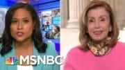 Pelosi Discusses Negotiations Over Next Coronavirus Relief Plan | Craig Melvin | MSNBC 4