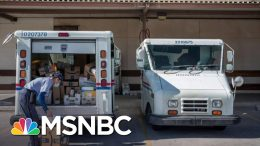 Postal Workers Union Head Confirms Slowdown Of Postal Service | All In | MSNBC 8