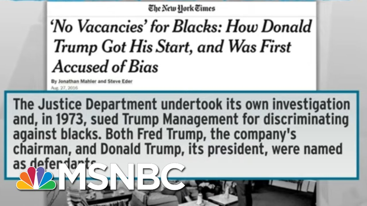 Trump Drops Subtlety In Racist Pitch To Protect 'Suburbs' | Rachel Maddow | MSNBC 8