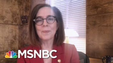 Trump Use Of Federal Forces A 'Failed Experiment': Oregon Governor | Rachel Maddow | MSNBC 6