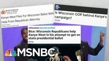 Trump Campaign Running Two Candidates For President In Wisconsin | Rachel Maddow | MSNBC 6