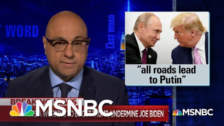 What You Should Know About Russia's Attempts To Undermine Biden's Candidacy & Help Trump   MSNBC 1